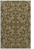 rug #950201 |  mid-brown damask rug