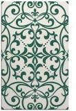rug #950221 |  green damask rug
