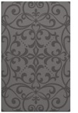 rug #950233 |  mid-brown damask rug