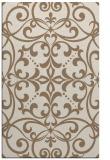 rug #950237 |  beige damask rug