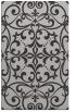 rug #950297    orange damask rug