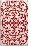 rug #950333 |  red damask rug