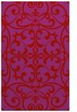 rug #950345 |  red damask rug