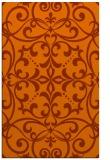 rug #950349    red-orange rug