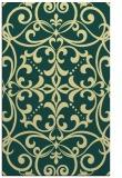 rug #950409 |  yellow damask rug