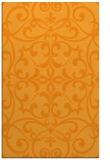 rug #950437 |  light-orange damask rug