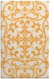 rug #950441 |  light-orange damask rug