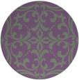 rug #950631 | round traditional rug