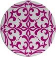 rug #950642 | round damask rug