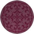 rug #950679 | round damask rug