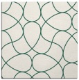 rug #953101 | square blue-green abstract rug