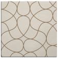 rug #953117 | square beige graphic rug