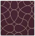 rug #953125 | square pink retro rug