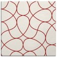 rug #953221 | square red abstract rug