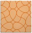 rug #953233 | square red-orange retro rug