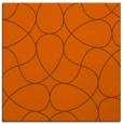 rug #953237 | square red-orange rug