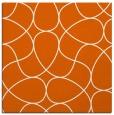 rug #953241 | square red-orange stripes rug