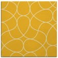 rug #953269 | square yellow rug