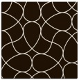 rug #953277 | square brown graphic rug