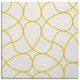 rug #953281 | square yellow stripes rug