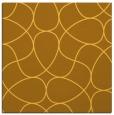 rug #953285 | square yellow abstract rug