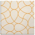rug #953321 | square light-orange abstract rug