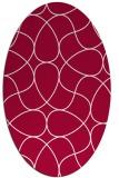 rug #953446 | oval abstract rug