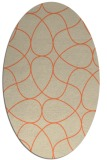 rug #953533 | oval abstract rug
