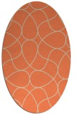 rug #953534 | oval abstract rug