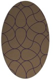 rug #953565 | oval abstract rug
