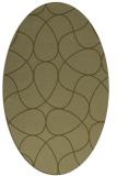 rug #953665 | oval light-green rug
