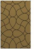 rug #953713 |  brown retro rug