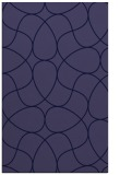 rug #953773 |  blue-violet stripes rug