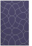 rug #953777 |  blue-violet stripes rug