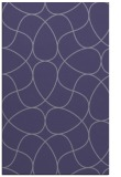 rug #953777    blue-violet retro rug