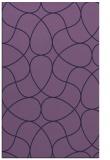 rug #953785 |  blue-violet stripes rug