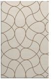 rug #953837 |  mid-brown retro rug