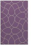 rug #953869 |  purple retro rug