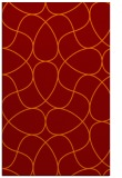 rug #953885 |  orange graphic rug