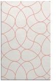 rug #953913    pink stripes rug