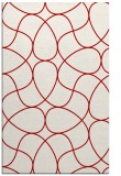 rug #953933    red abstract rug
