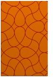 rug #953937 |  orange graphic rug