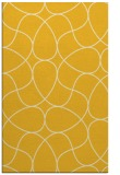 rug #953989 |  yellow stripes rug
