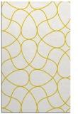 rug #954001 |  yellow graphic rug