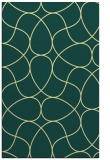rug #954009 |  blue-green graphic rug