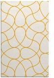 rug #954029 |  light-orange stripes rug