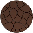 rug #954061 | round abstract rug