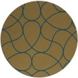 rug #954075 | round graphic rug