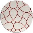 rug #954251   round retro rug