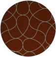rug #954259   round abstract rug